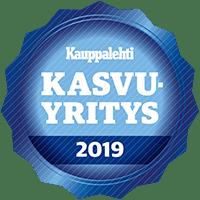 Tavarataksi Finland on valittu Kauppalehden kasvuyritykseksi vuonna 2019.